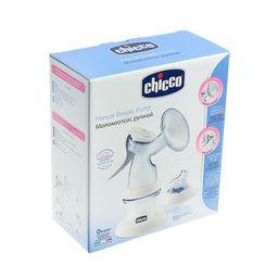 Chicco Natural Feeling Молокоотсос ручной с бутылочкой, 1 шт.