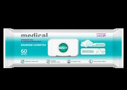 Клинса салфетки влажные для больничной гигиены, 60 шт.