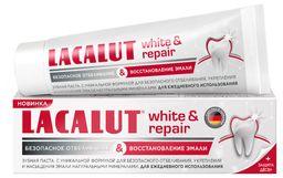 Lacalut White&Repair зубная паста, паста зубная, 75 мл, 1 шт.