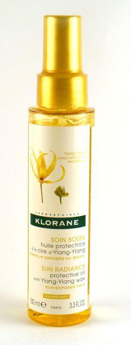 Klorane масло для волос защитное с воском иланг-иланг, 100 мл, 1шт.