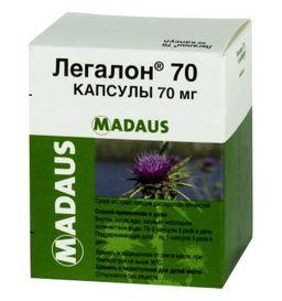 Легалон 70, 70 мг, капсулы, 60 шт.