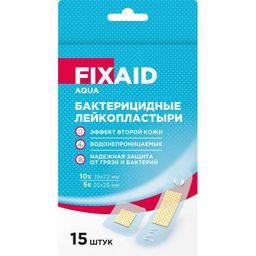Fixaid Aqua Лейкопластырь бактерицидный эффект второй кожи