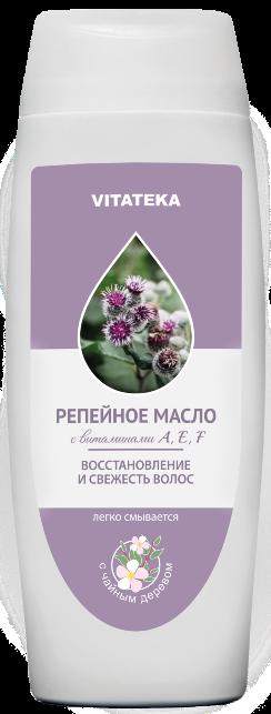 Витатека Репейное масло с чайным деревом, масло косметическое, 100 мл, 1 шт.