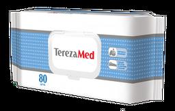 TerezaMed салфетки влажные с кремовым эффектом, 80шт.