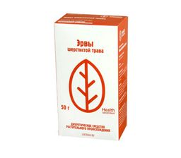 Эрвы шерстистой трава, сырье растительное измельченное, 50 г, 1 шт.