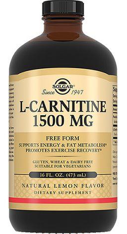 Solgar Жидкий L-карнитин 1500 мг, 1500 мг, жидкость, 473 мл, 1 шт.