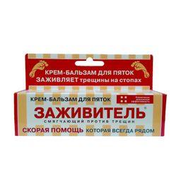Заживитель Крем-бальзам для пяток от трещин, крем-бальзам, 30 мл, 1 шт.