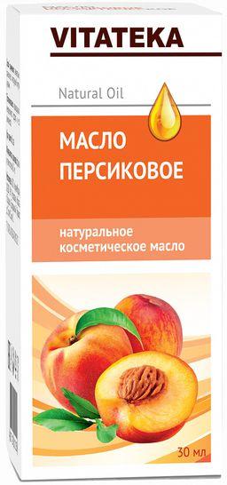 Витатека Масло персиковое, масло косметическое, 30 мл, 1 шт.