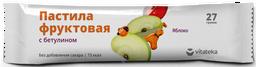 Витатека Пастила фруктовая Яблочная, 27 г, 1 шт.
