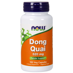 NOW Dong Quai, 520 мг, капсулы, 100шт.