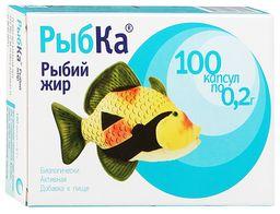 Рыбка Рыбий жир