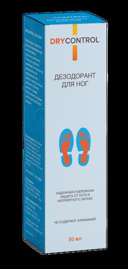 Dry Control Дезодорант для ног, 50 мл, 1 шт.