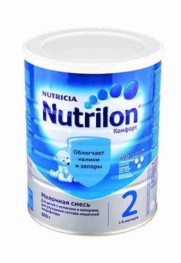 Nutrilon 2 Комфорт, смесь молочная сухая, 800 г, 1шт.