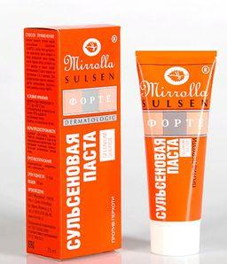 Mirolla Сульсен Форте Сульсеновая паста против перхоти, 2%, паста для наружного применения, 75 мл, 1 шт.