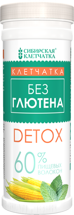 Сибирская клетчатка безглютеновая СК Detox, 200 г, 1 шт.