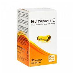 Витамин Е, 400 мг, капсулы, 30 шт.