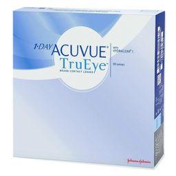 1-Day Acuvue TruEye Линзы контактные Однодневные, BC=8,5 d=14,2, D(-6.00), стерильно, 90 шт.