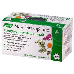 Чай Эвалар Био Желудочно-кишечный, фиточай, 1.8 г, 20 шт.