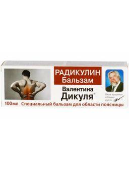 Валентина Дикуля гель-бальзам Радикулин, гель-бальзам, 100 мл, 1 шт.