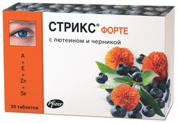 Стрикс форте, 500 мг, таблетки, 30 шт.