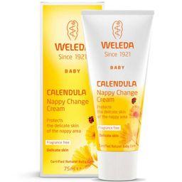 Weleda Крем для защиты кожи в области пеленания с календулой для младенцев, крем, 75 мл, 1шт.