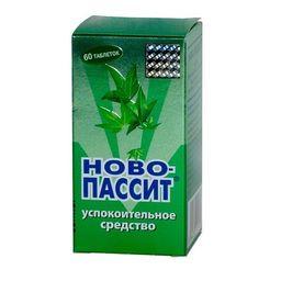 Ново-Пассит, таблетки, покрытые пленочной оболочкой, 60 шт.