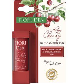 Fiori Dea Бальзам для губ Спелая вишня, бальзам для губ, смягчающий, 4,5 г, 1 шт.