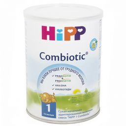 Hipp 1 Сombiotic, смесь молочная сухая, 350 г, 1шт.