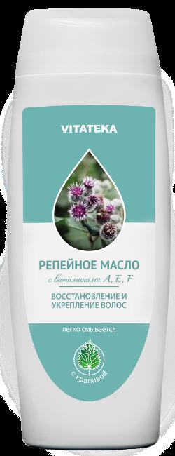 Витатека Репейное масло с крапивой, масло косметическое, 100 мл, 1 шт.