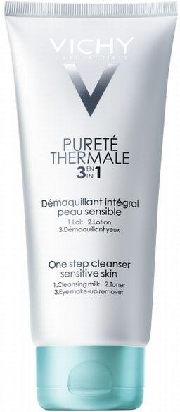 Vichy Purete Thermale очищающее универсальное средство 3 в 1, молочко для лица, 200 мл, 1 шт.