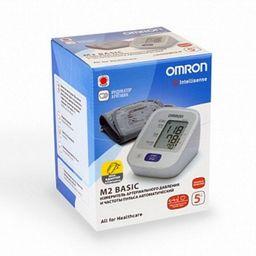 Тонометр автоматический OMRON М2 Basic, с адаптером и стандартной манжетой (22-32 см), 1 шт.