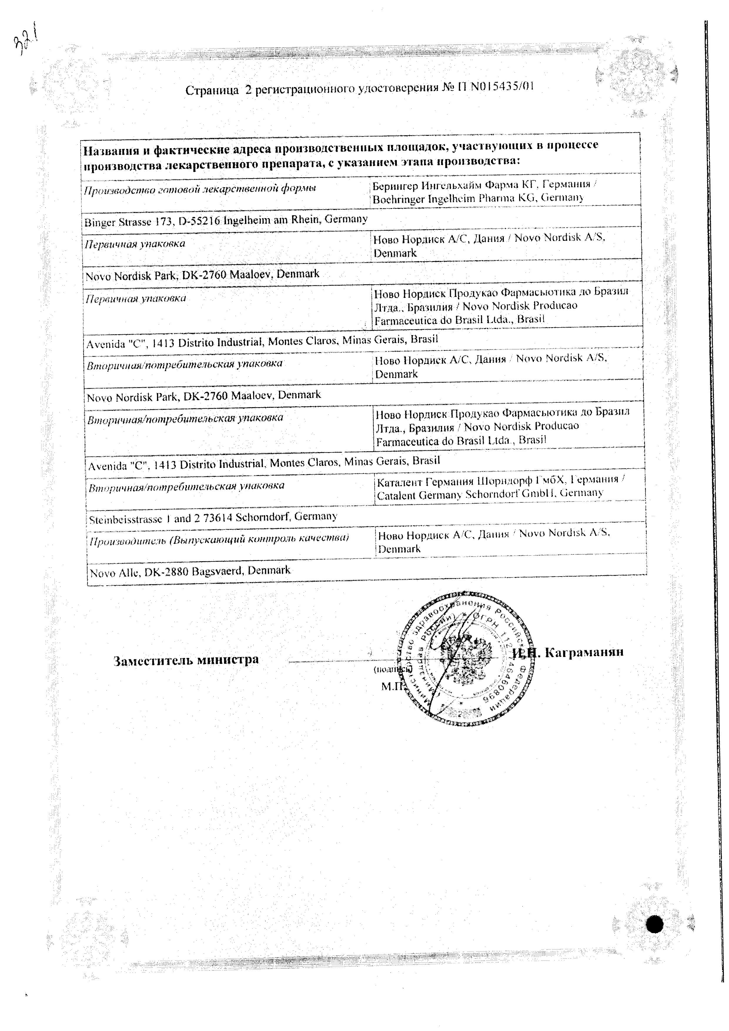 НовоНорм сертификат