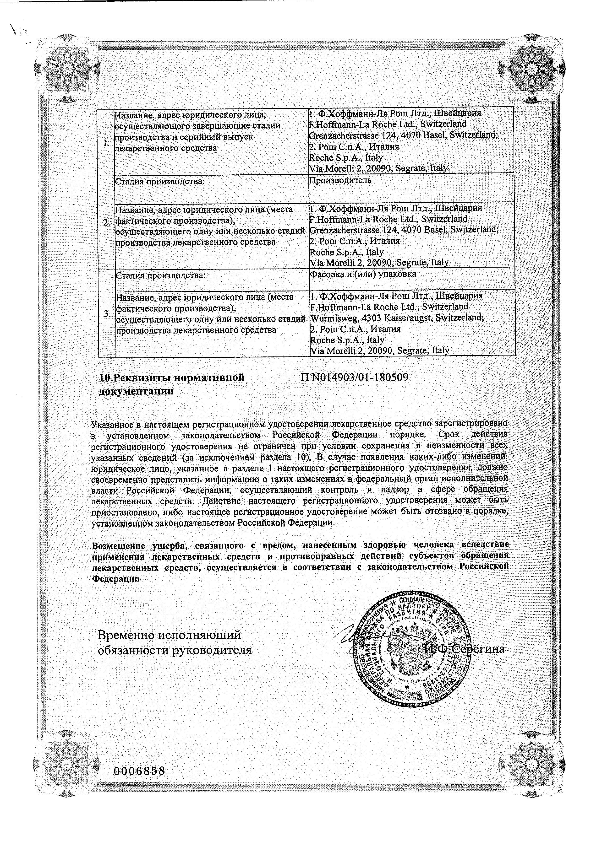 Ксеникал сертификат