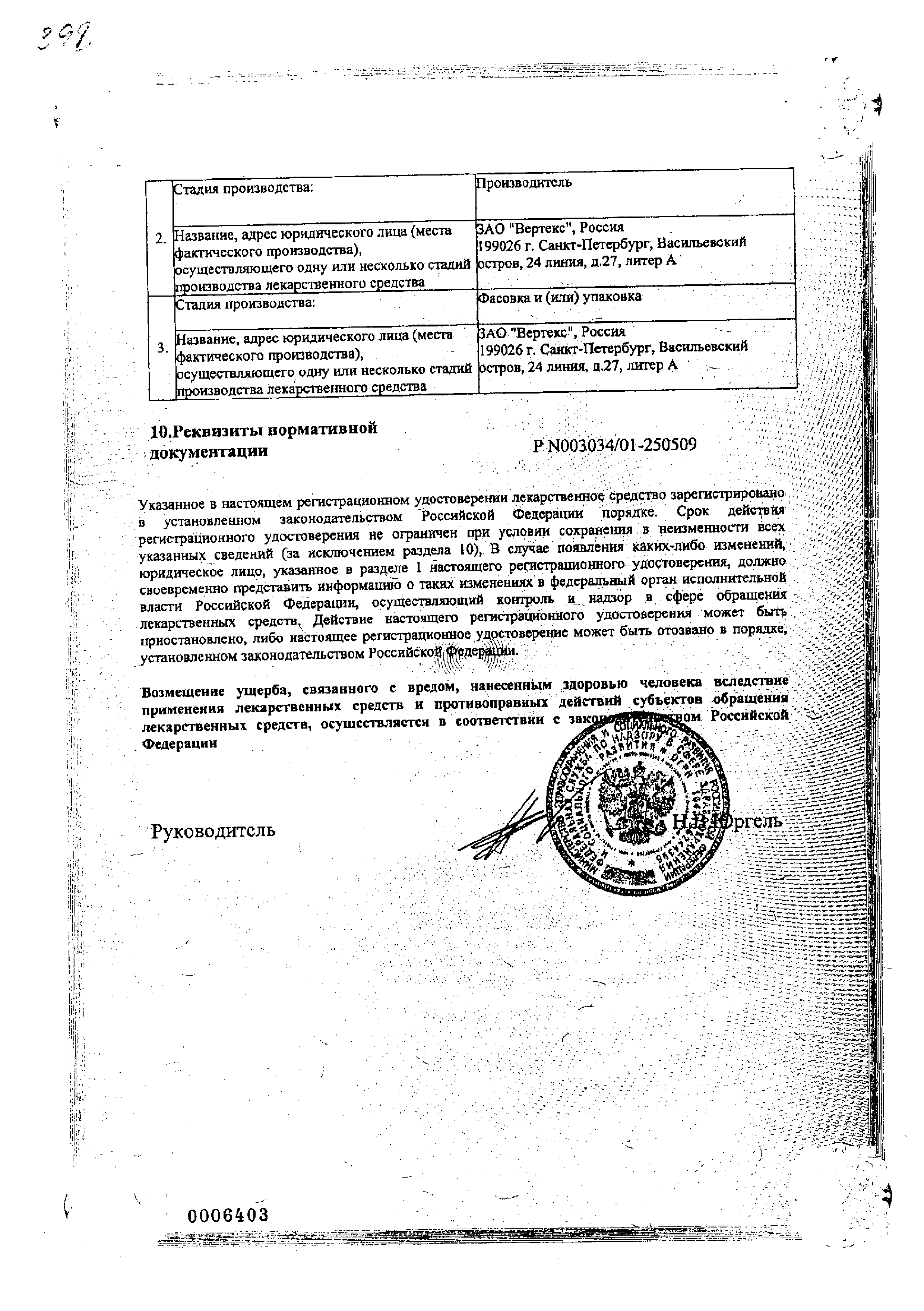 Итразол сертификат
