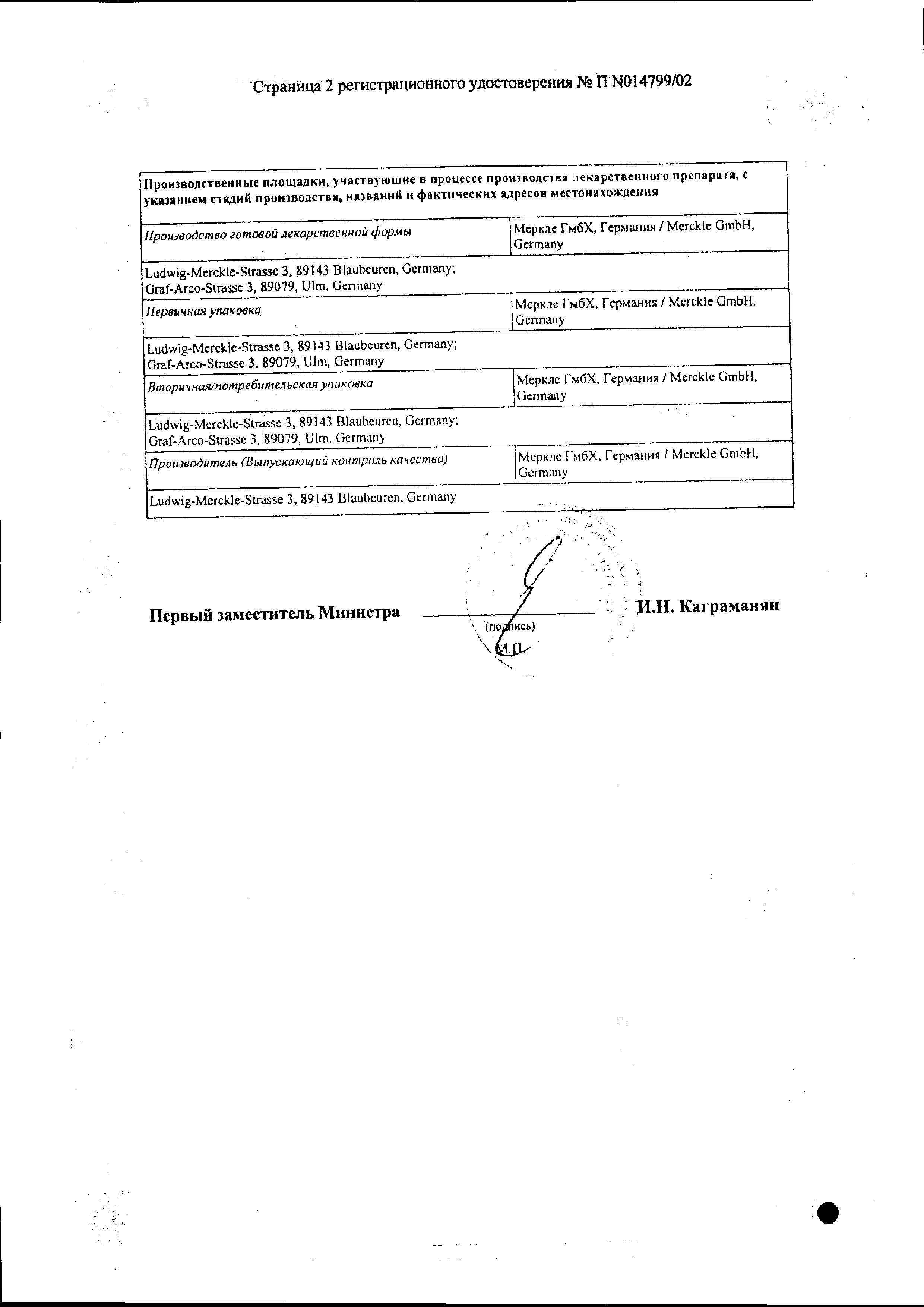 Ринонорм сертификат