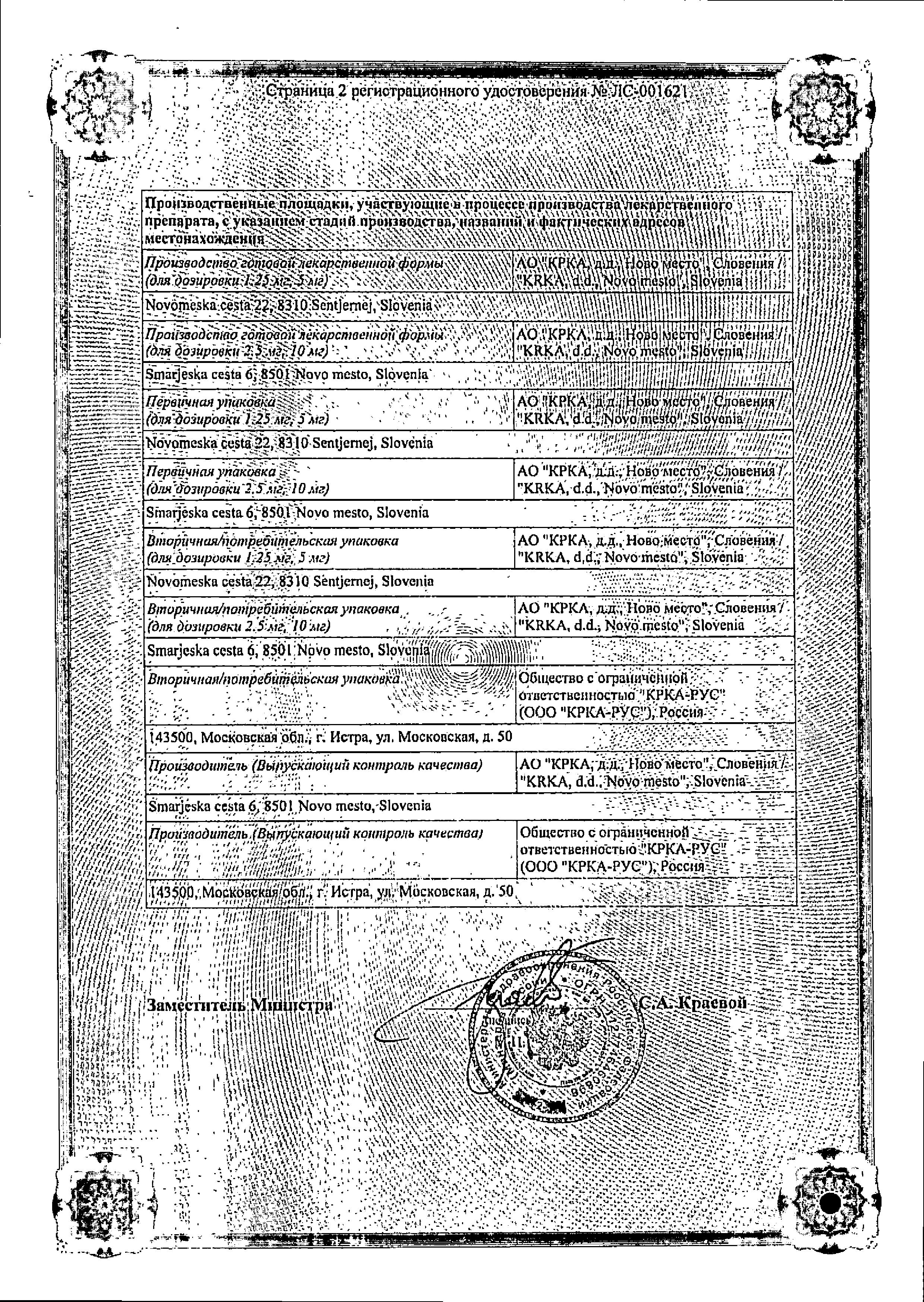 Амприлан сертификат