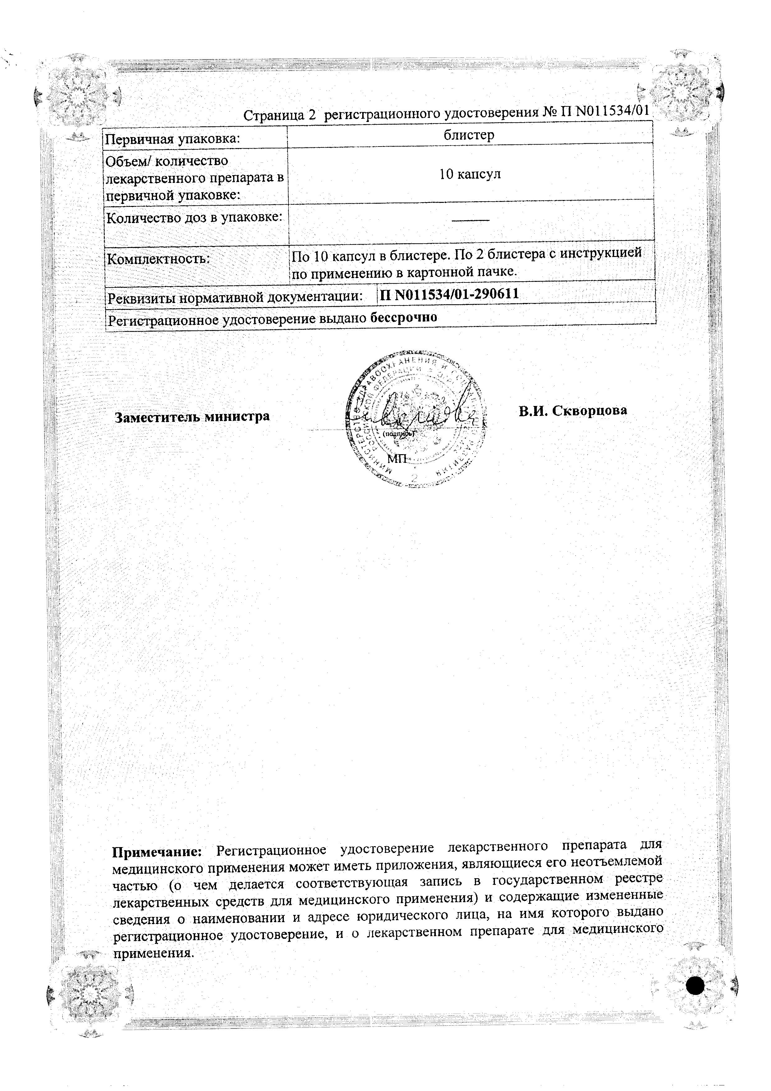 Интетрикс сертификат