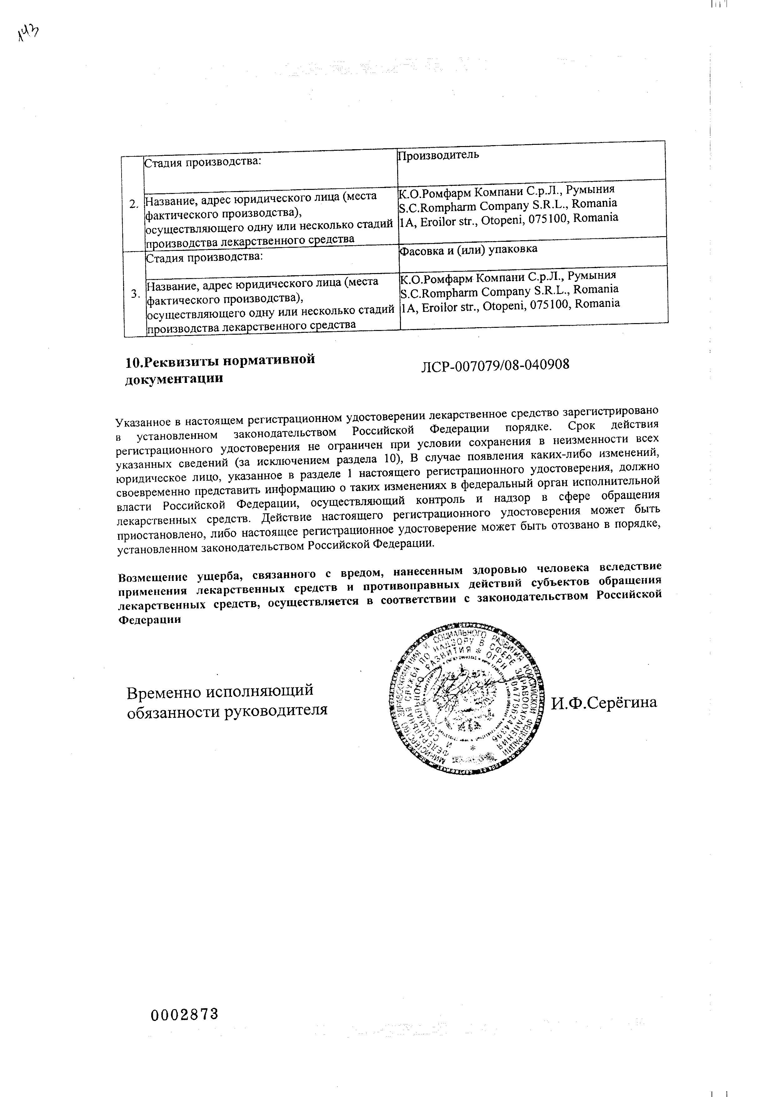 Визоптик сертификат