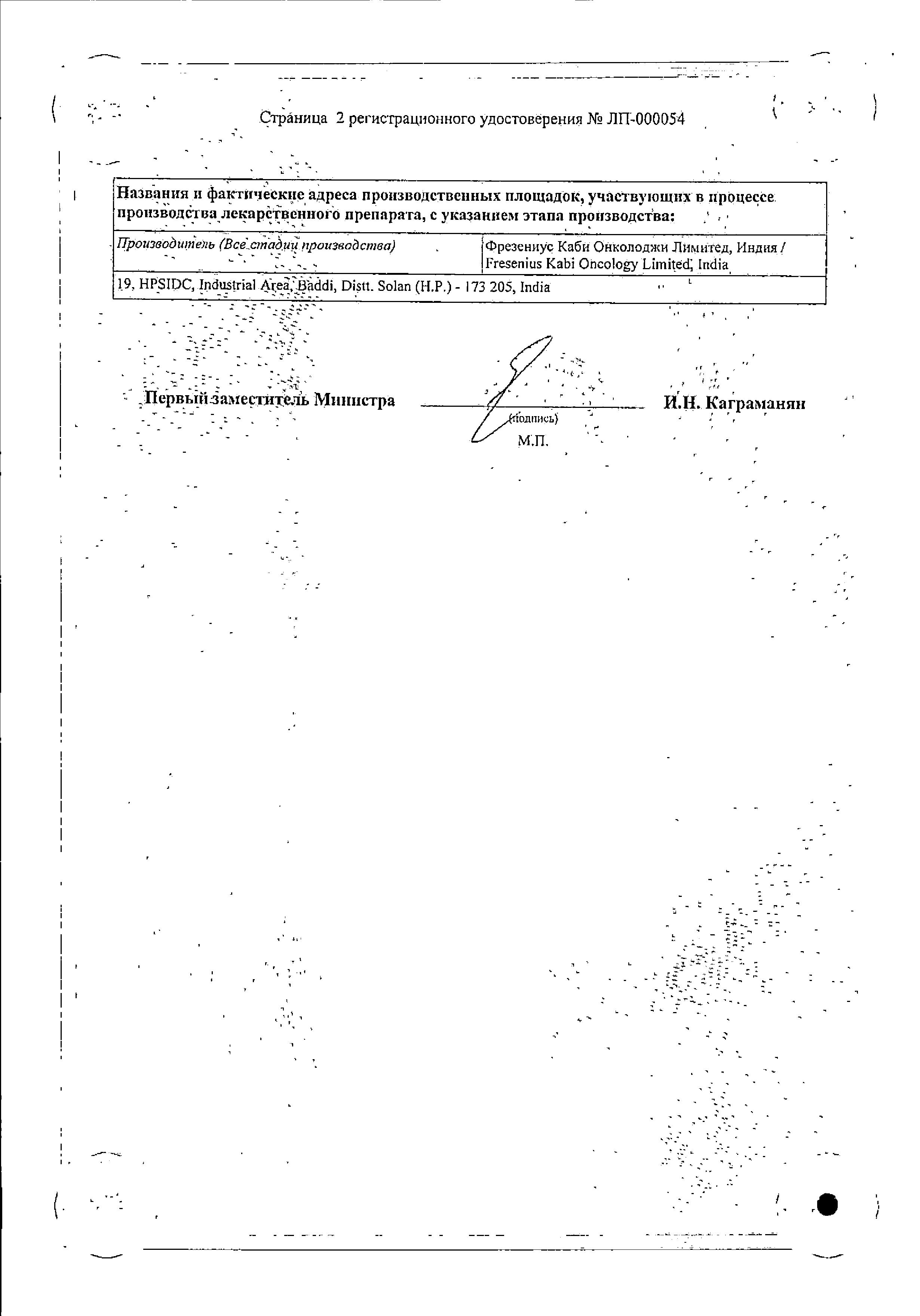 Гемита сертификат