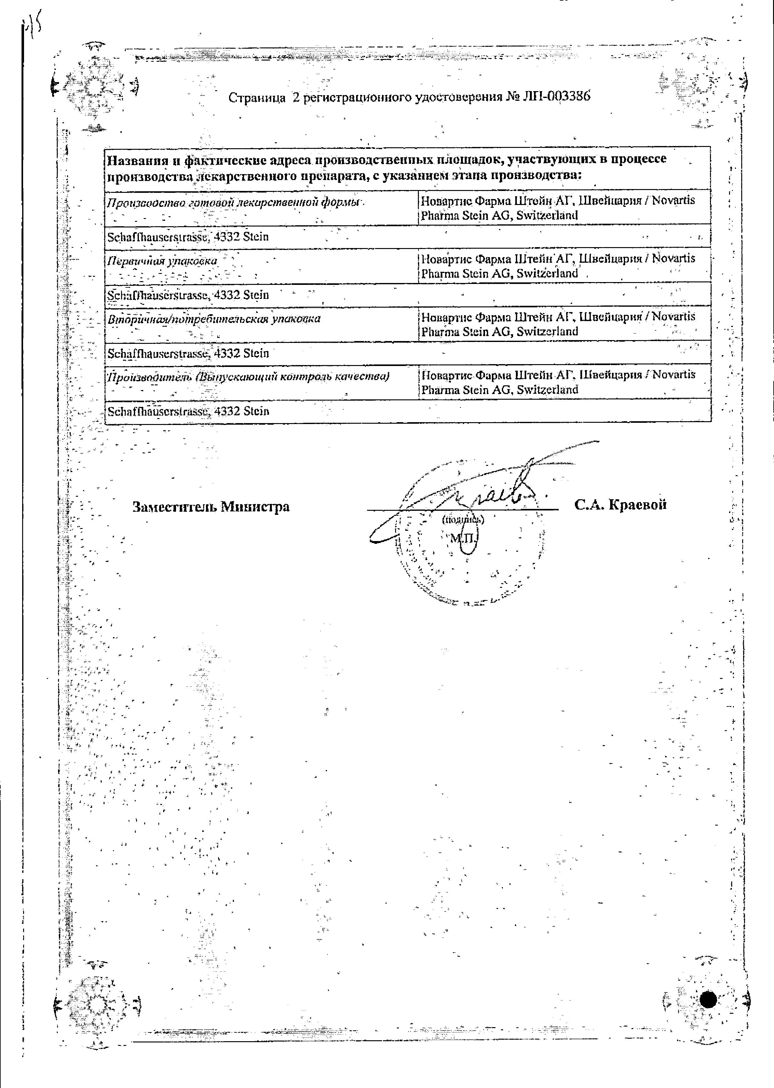 Ультибро Бризхалер сертификат