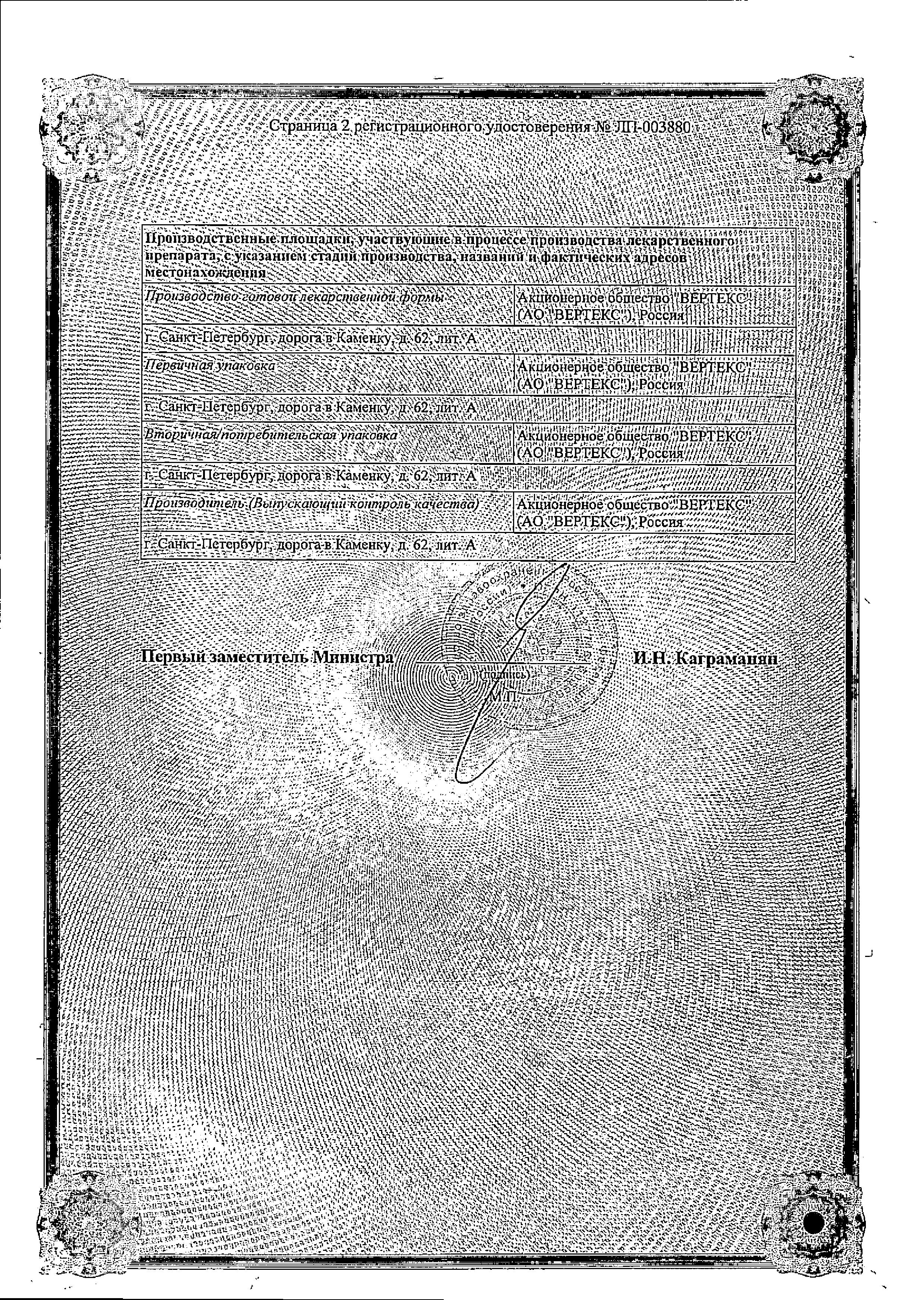 Лерканорм сертификат