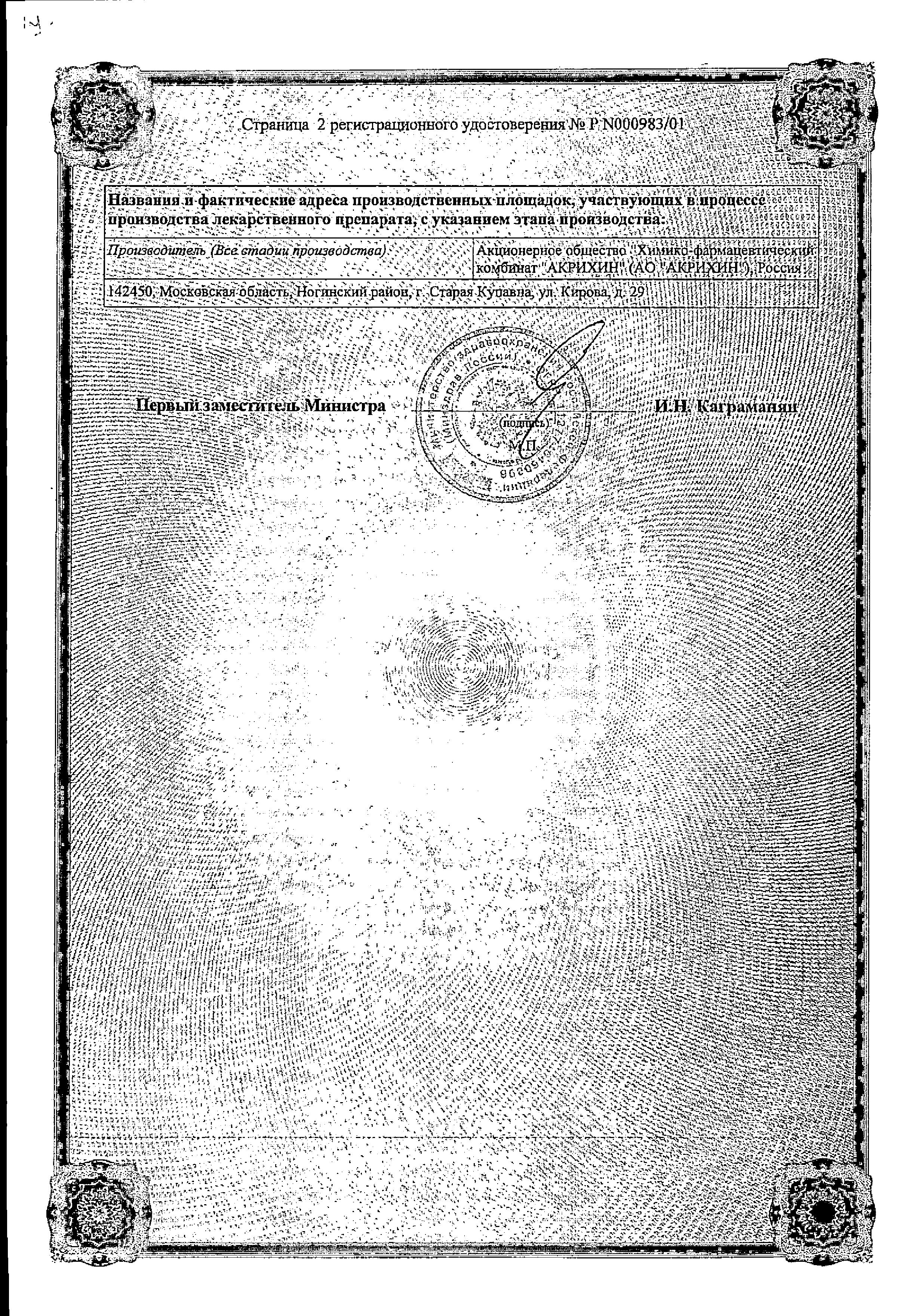 Карведилол-Акрихин