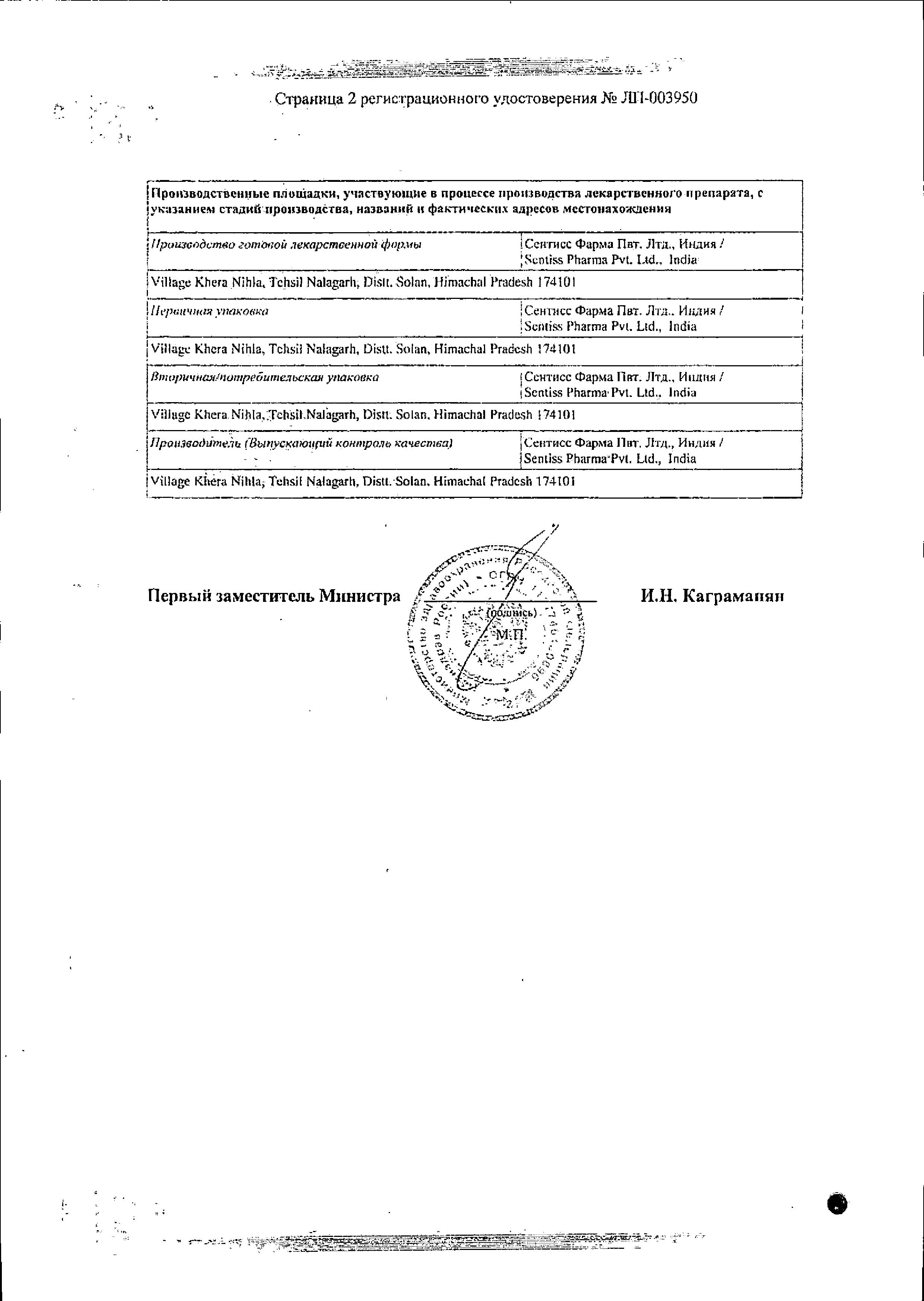 Визаллергол сертификат