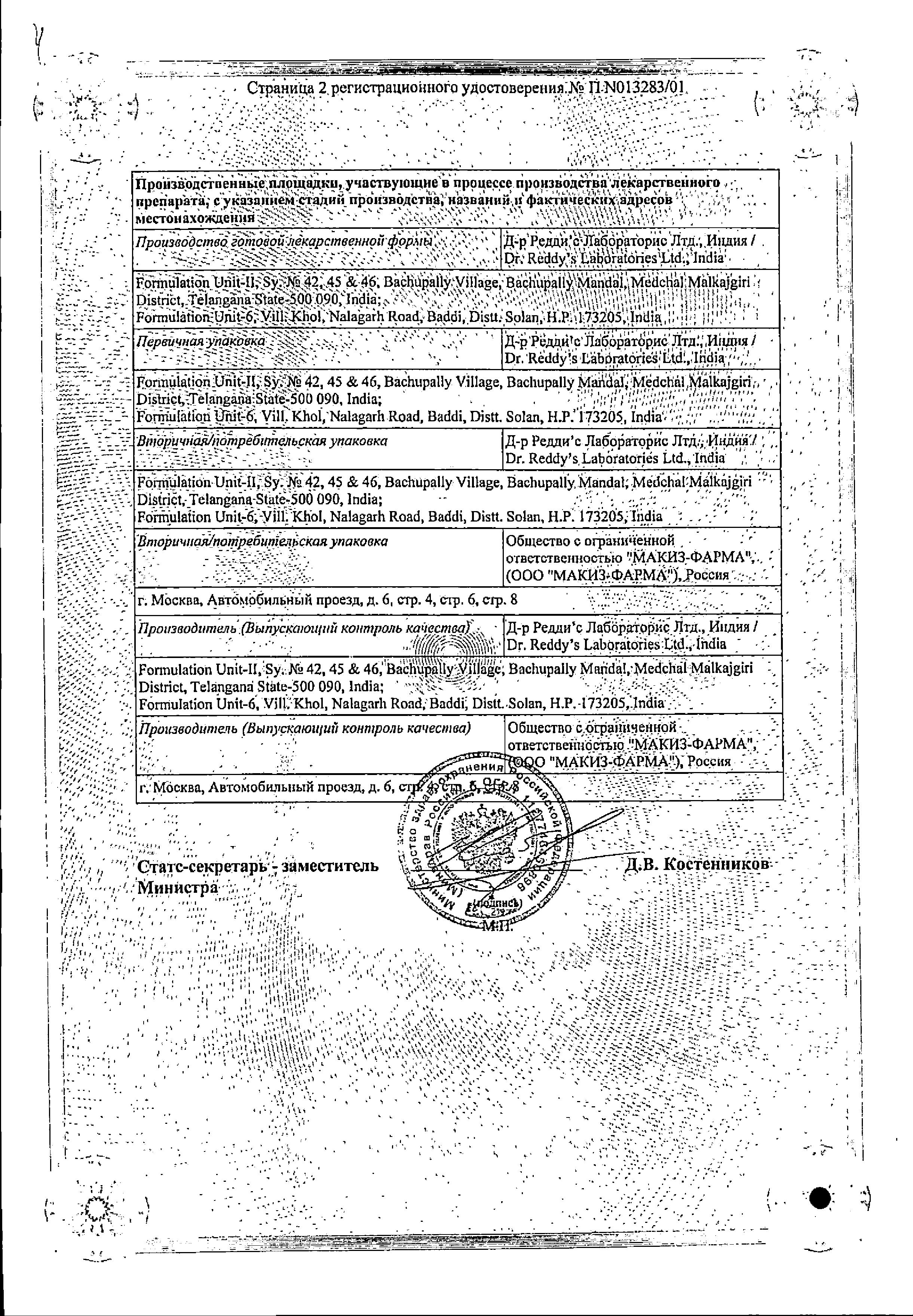 Цетрин сертификат