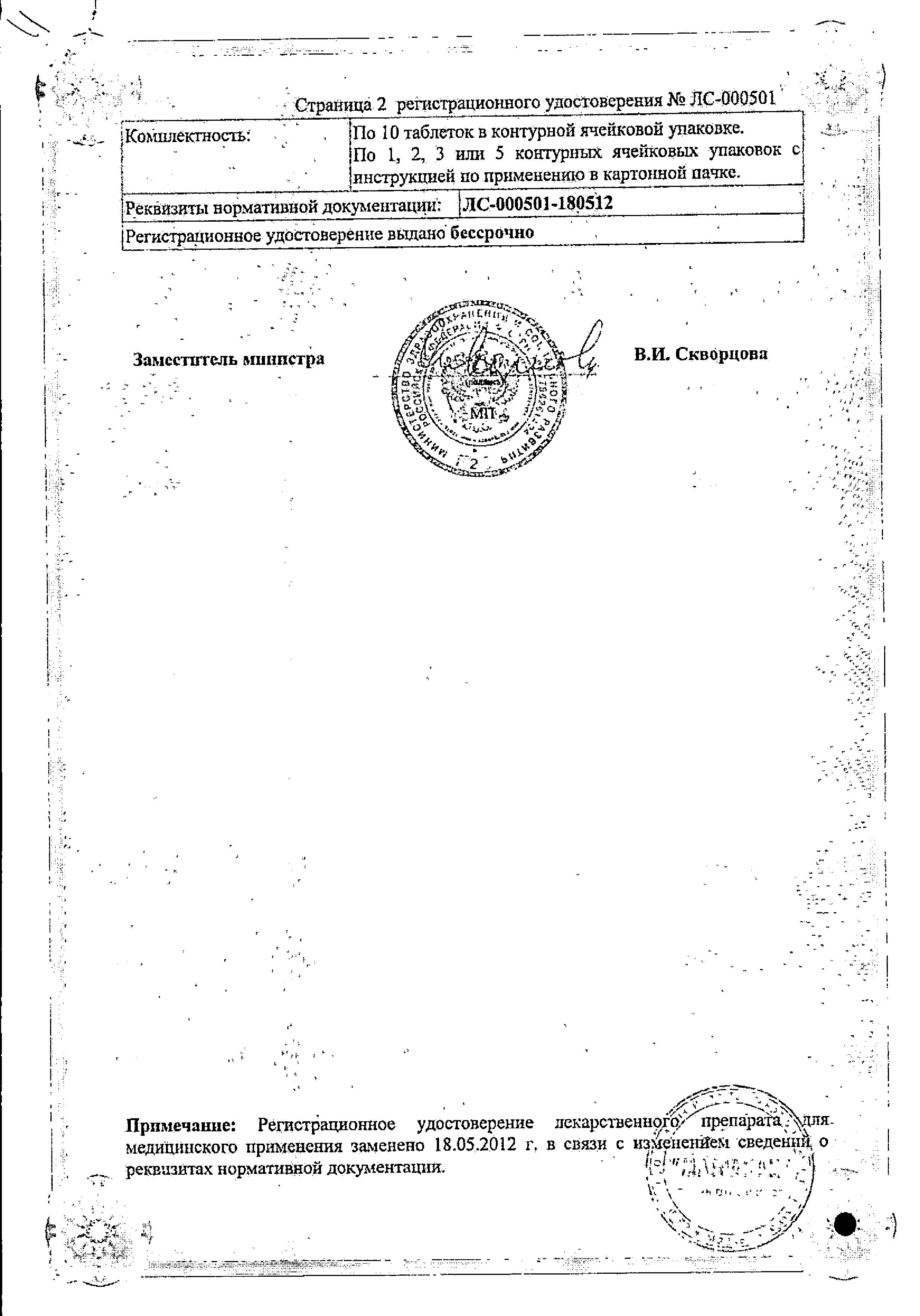 Глицирам сертификат
