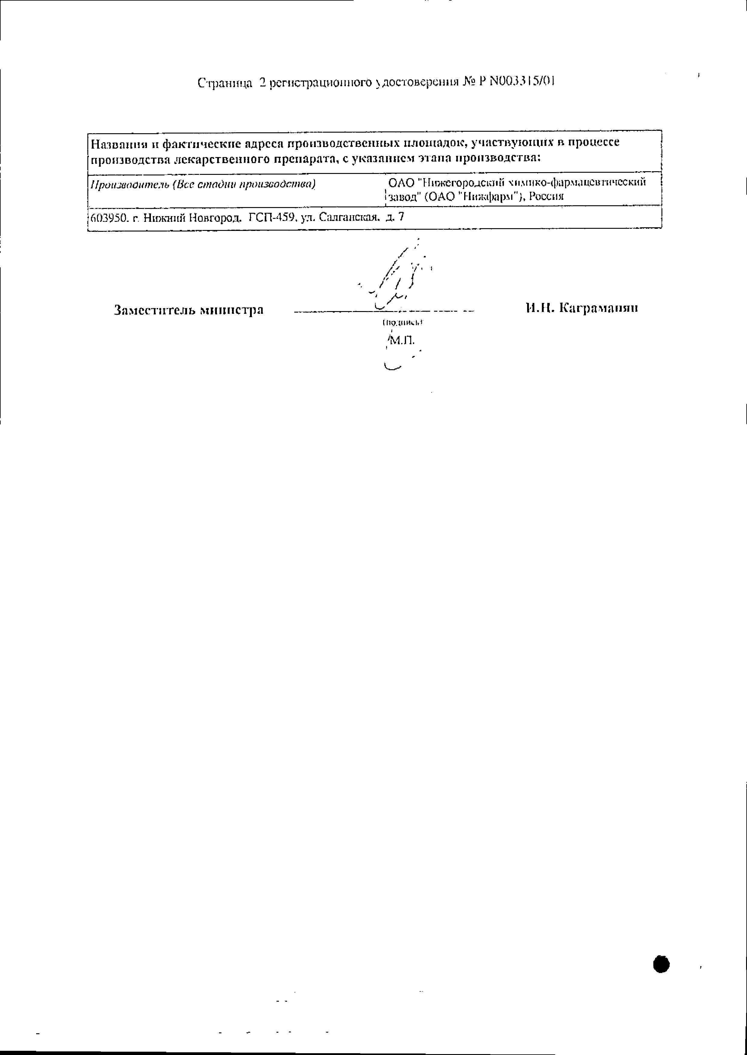 Ихтиол (свечи) сертификат