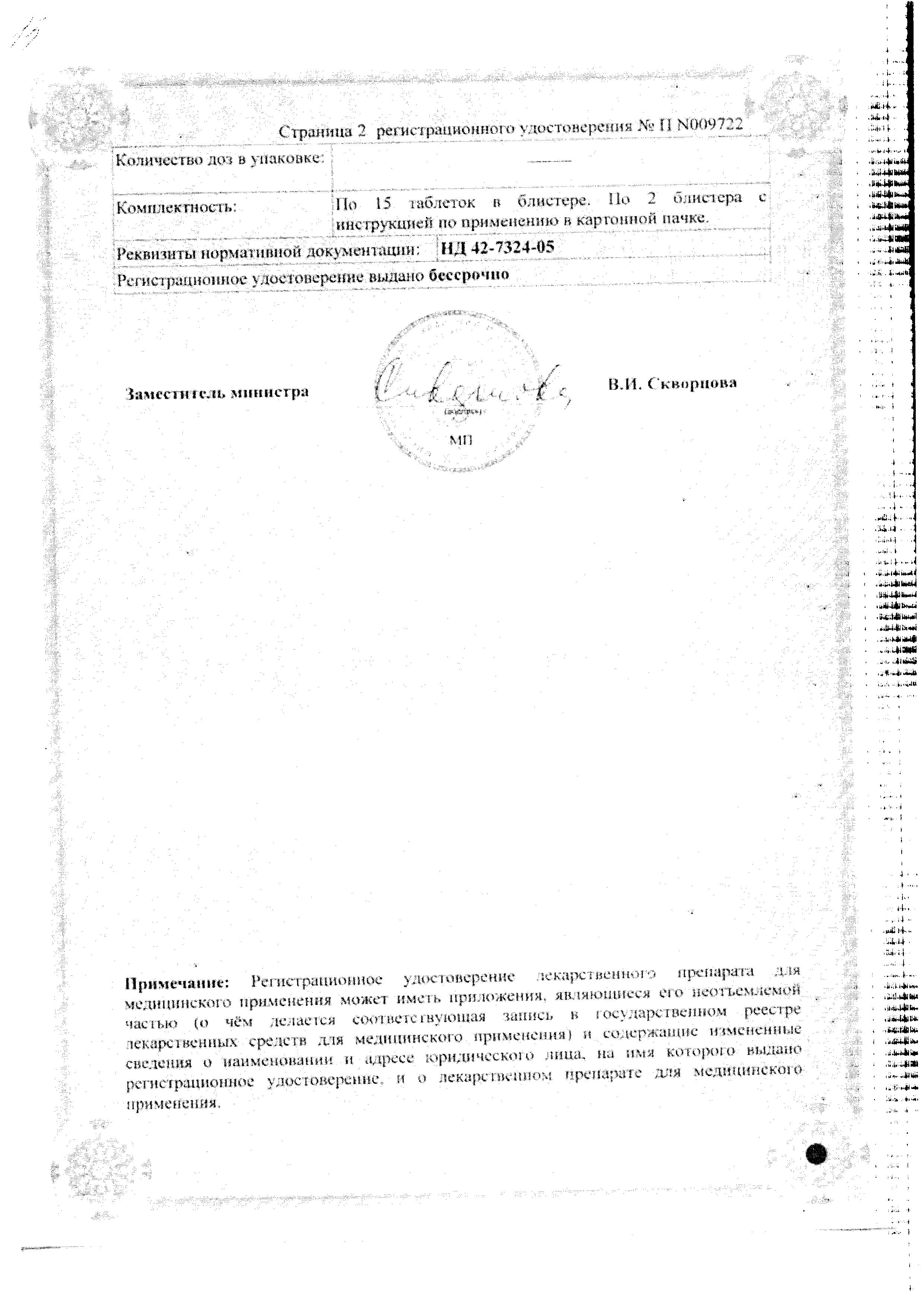 Остеокеа сертификат